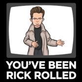 Rick Roll Shirt Logo