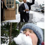 obama-throws-snowball-at-woman