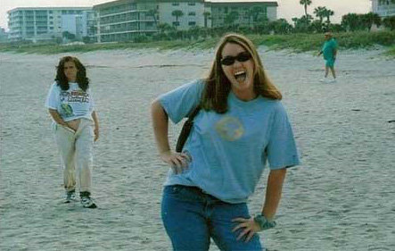Beach Hand in Pants Photobomb