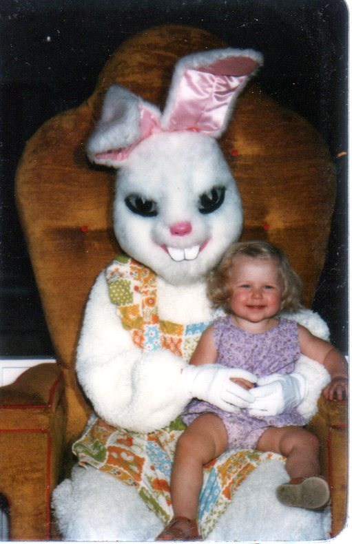Creepy Scary Easter Bunny