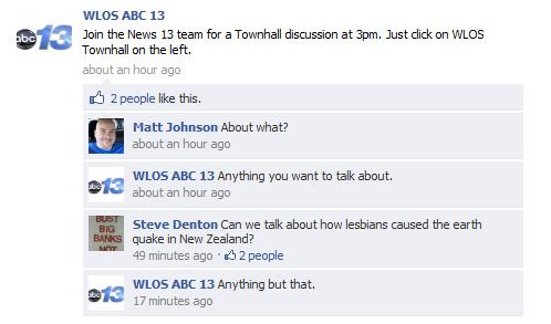 News 13 Lesbian Facebook Fail