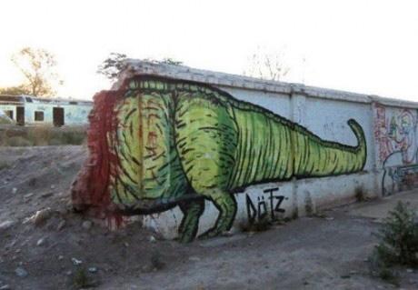 Half Dinosaur
