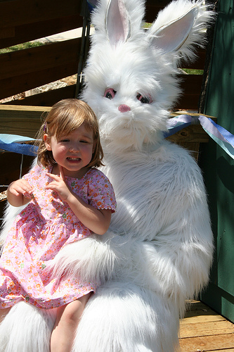 the scary easter bunny
