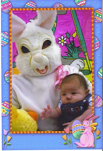 evil easter bunny
