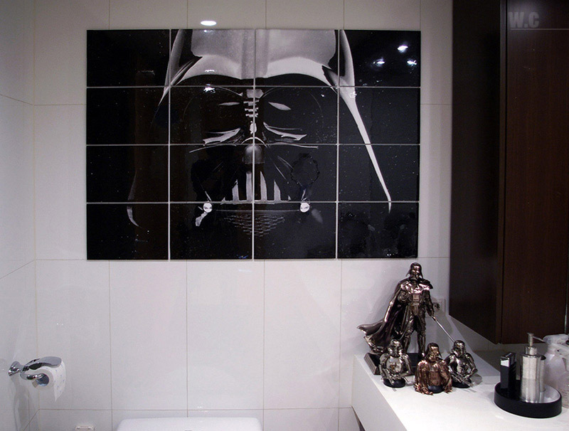 The best star wars home decorations bro j simpson for Space themed bathroom accessories
