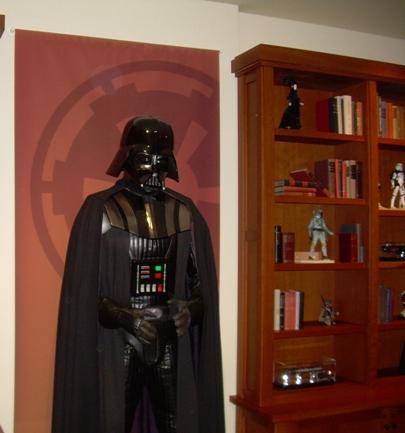 Star Wars Decor - Vader Wall