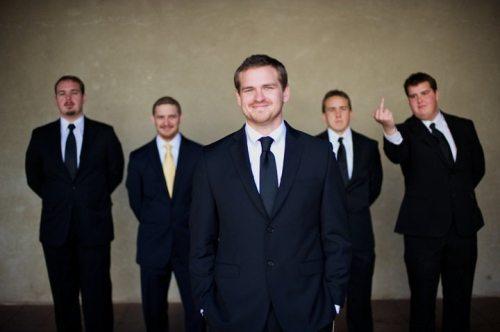 wedding-groomsmen-photobomb