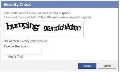 captcha-facebook