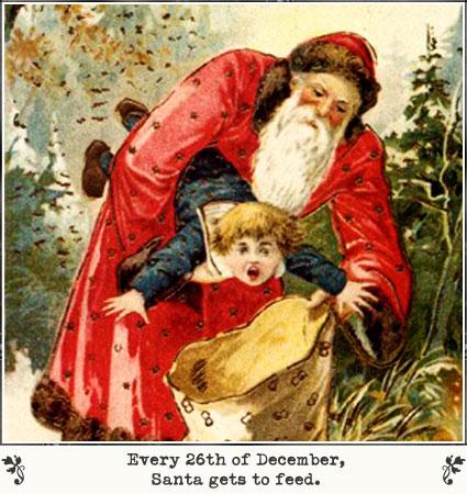 santa-feed