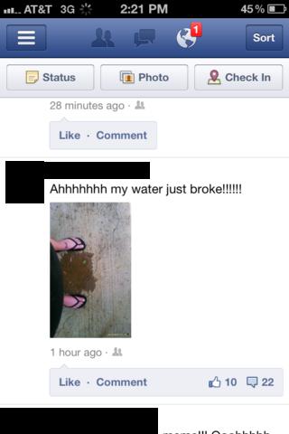 water-broke