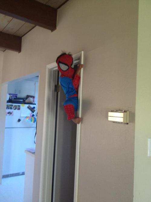 kid-spiderman