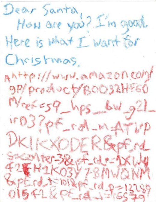 Funny Letter To Santa