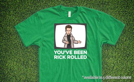 Rick Astley T-Shirt - Banner
