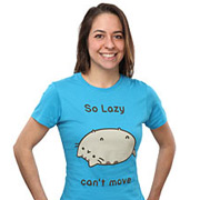 Funny Cat Shirt - So Lazy