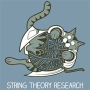 Funny Cat Shirt - String Theory