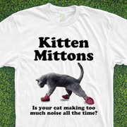 Kitten Mittons Shirt - Best!